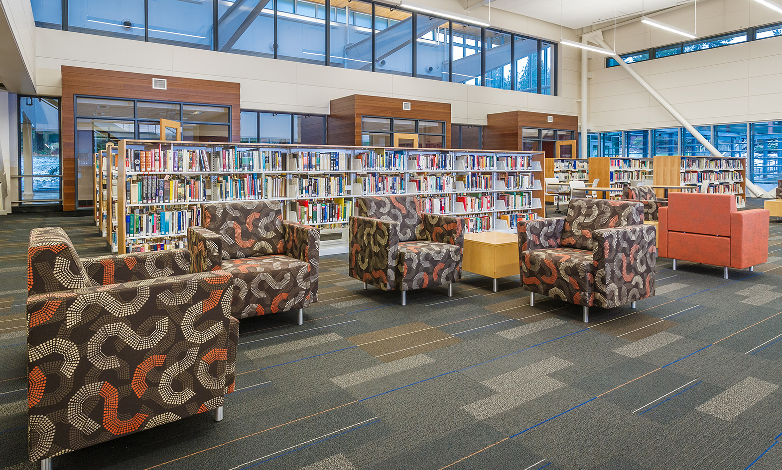 5 Inspirational Examples of Modern Library Design - Agati ...