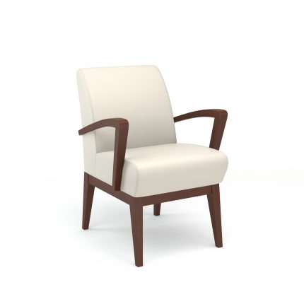 Rio Side Chair Wood Arms